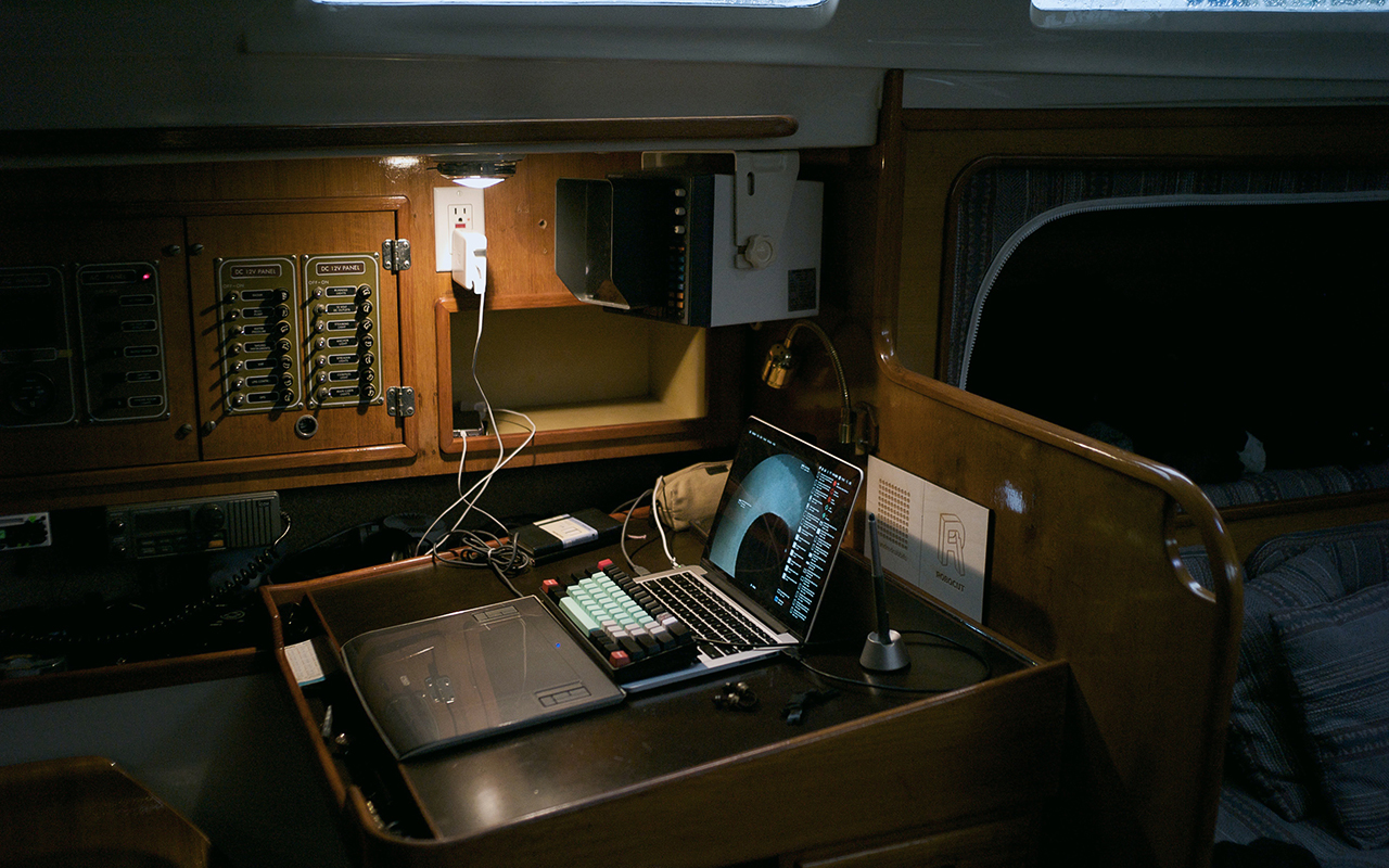 Workstation Aboard Pino picture