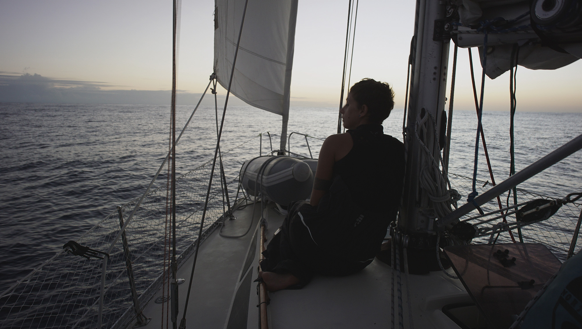 At sea, near The Marquesas picture